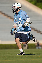 26 April 2009: North Carolina Tar Heels midfielder Chris Layne (38) during a 15-13 loss to the Duke Blue Devils during the ACC Championship at Kenan Stadium in Chapel Hill, NC.