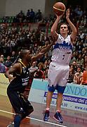 DESCRIZIONE : Brescia LNP DNA Adecco Gold 2013-14 Centrale del Latte Brescia-Tezenis Verona<br /> GIOCATORE : Franko Bushati<br /> CATEGORIA : tiro<br /> SQUADRA : Centrale del Latte Brescia<br /> EVENTO : Campionato LNP DNA Adecco Gold 2013-14<br /> GARA : Centrale del Latte Brescia-Tezenis Verona<br /> DATA : 22/12/2013<br /> SPORT : Pallacanestro<br /> AUTORE : Agenzia Ciamillo-Castoria/R.Morgano<br /> Galleria : LNP DNA Adecco Gold 2013-2014<br /> Fotonotizia : Brescia LNP DNA Adecco Gold 2013-14 Centrale del Latte Brescia-Tezenis Verona<br /> Predefinita :