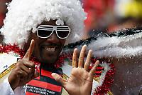 20091206: RIO DE JANEIRO, BRAZIL - Flamengo vs Gremio: Brazilian League 2009 - Flamengo won 2-1 and celebrated the 6th Brazilian Championship of its history. In picture: Flamengo fan celebrating Flamengos's 6th title. PHOTO: CITYFILES