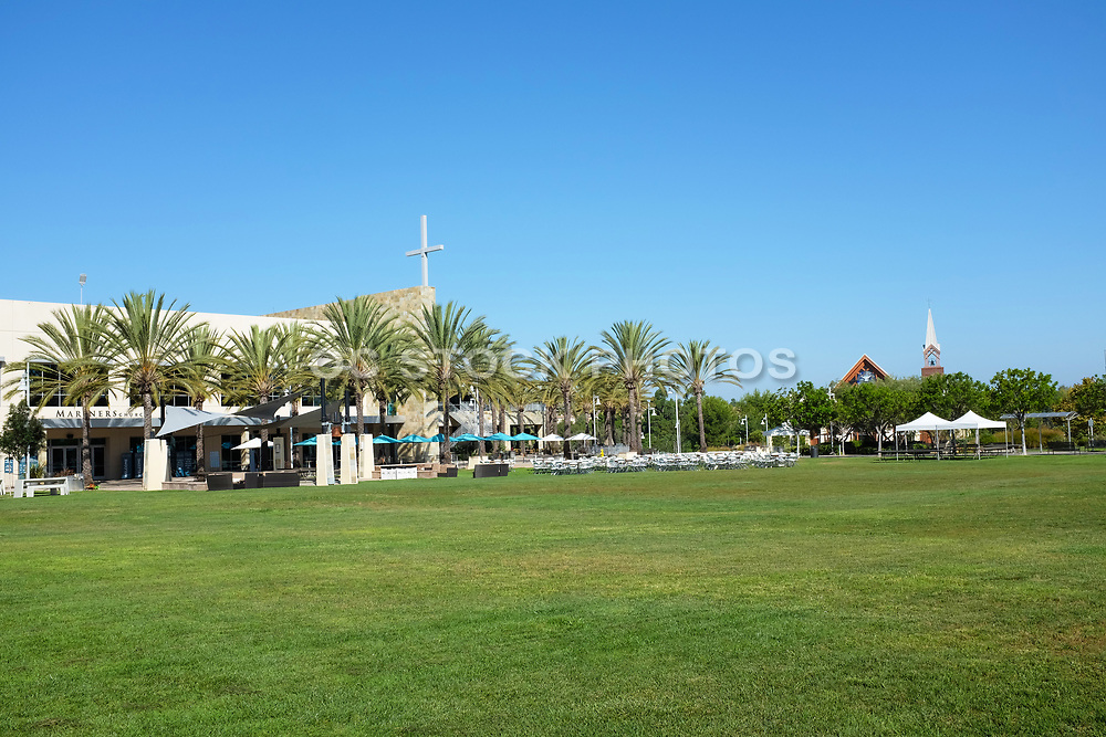 Mariners Church Worship Center and Chapel from the Main Lawn