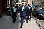 Fotos de Iberdrola - Pedido Madrid (Lola Cintado) Sin distribución.<br /> <br />  <br /> NY01 - NUEVA YORK (NY, EE.UU.), 22/04/2016.- El presidente de Iberdrola, Ignacio Galán, camino al edificio de la ONU en Nueva York (EE.UU.) hoy, 22 de abril 2016. EFE/Edu Bayer