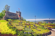 Ogrody Zamku Królewskiego w Nowym Sączu, Polska<br /> Gardens of the Royal Castle in Nowy Sącz, Poland