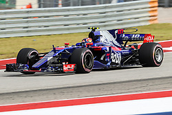 October 20, 2017 - Austin, Texas, U.S - Red Bull Racing driver Daniil Kvyat (26) of Russia in action before the Formula 1 United States Grand Prix race at the Circuit of the Americas race track in Austin,Texas. (Credit Image: © Dan Wozniak via ZUMA Wire)