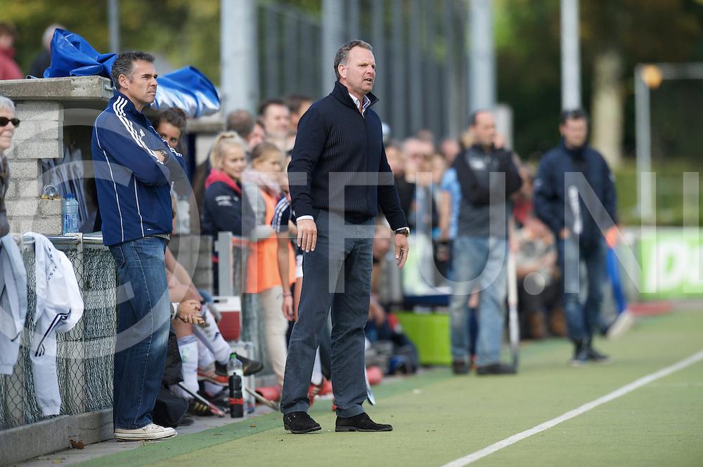 NIJMEGEN - Nijmegen-Pinoke dames.<br /> Hoofdklasse dames<br /> Foto: Pinoke coach Etienne Spee.<br /> FFU PRESS AGENCY COPYRIGHT FRANK UIJLENBROEK