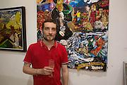 SIMONE GERARDO TORRI, Lady  Sandra Bates and Jason Bradbury host 'Lust' a mixed exhibition. La Galleria. Pall Mall.  London 3 September 2013.