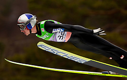 Winner Gregor Schlierenzauer of Austria during Flying Hill Individual at 2nd day of FIS Ski Jumping World Cup Finals Planica 2011, on March 18, 2011, Planica, Slovenia. (Photo by Vid Ponikvar / Sportida)