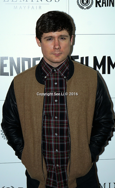 London,England,UK : Actor Denny Rickman from Eastenders attend the Raindance Filmmakers Ball by London Flair Pr at Cafe De Paris  in London. Photo by See Li