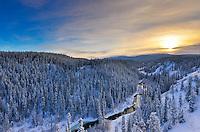 McIntyre Creek in winter