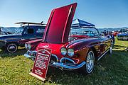 1962 Chevy Corvette at WAAAM Traffic Jam.