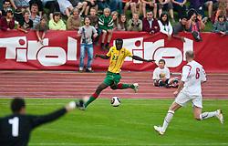 25.05.2010, Dolomitenstadion, Lienz, AUT, FIFA Worldcup Vorbereitung, Kamerun vs Georgien im Bild Feature Tirol Werbung, EXPA Pictures © 2010, PhotoCredit: EXPA/ J. Feichter / SPORTIDA PHOTO AGENCY