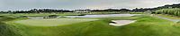 SPIJK - Hole 10 van The Dutch .  Golfbaan THE DUTCH, COPYRIGHT KOEN SUYK