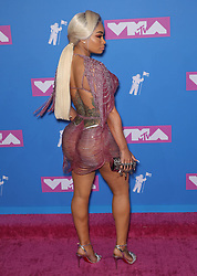 August 21, 2018 - New York City, New York, USA - 8/20/18.Blac Chyna at the 2018 MTV Video Music Awards at Radio City Music Hall in New York City. (Credit Image: © Starmax/Newscom via ZUMA Press)