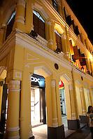 Historic portuguese colonial architecture in Macau.