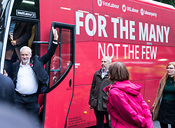 June 7, 2017 - London, London, United Kingdom - Image ©Licensed to i-Images Picture Agency. 07/06/2017. London, United Kingdom. Jeremy Corbyn Final campaign speech, London. .Labour leader, Jeremy Corbyn, arrives at the Union Chapel in Islington to deliver his final campaign speech.Picture by Mark Thomas / i-Images (Credit Image: © Mark Thomas/i-Images via ZUMA Press)