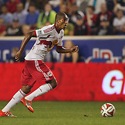 Roy Miller, New York Red Bulls, in action during the New York Red Bulls Vs Seattle Sounders, Major League Soccer regular season match at Red Bull Arena, Harrison, New Jersey. USA. 20th September 2014. Photo Tim Clayton