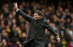 Watford manager Javi Gracia after the final whistle