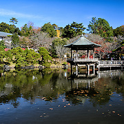 The Narita-san temple, also known as Shinsho-Ji (New Victory Temple), is Shingon Buddhist temple complex, was first established 940 in the Japanese city of Narita, east of Tokyo.. The complex includes extensive landscaped gardens.