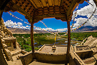 Shey Palace, Leh Valley, Ladakh, Jammu and Kashmir State, India.
