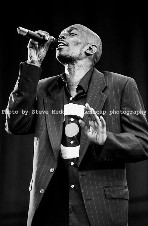 Maxi Jazz - Faithless, , V2001, Hylands Park, Chelmsford, Essex, Britain - 19 August 2001