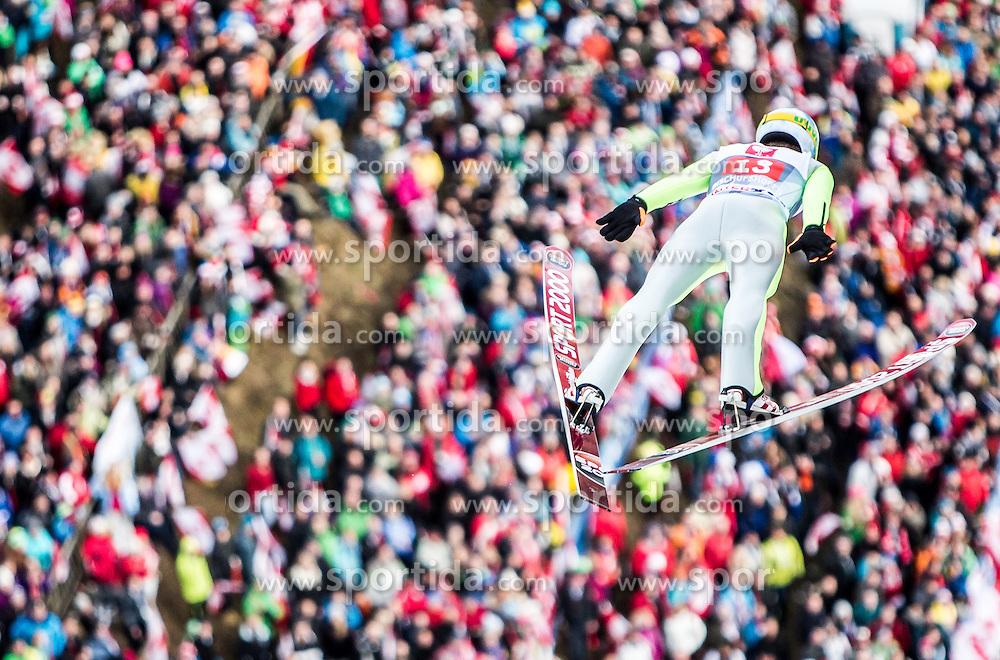06.01.2014, Paul Ausserleitner Schanze, Bischofshofen, AUT, FIS Ski Sprung Weltcup, 62. Vierschanzentournee, Probesprung, im Bild Jan Ziobro (POL) // Jan Ziobro (POL) during Trial Jump of 62nd Four Hills Tournament of FIS Ski Jumping World Cup at the Paul Ausserleitner Schanze, Bischofshofen, Austria on 2014/01/06. EXPA Pictures © 2014, PhotoCredit: EXPA/ JFK