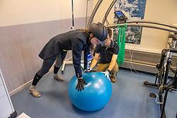 Roos Laurence, BEL, Benoit Nicolas, Expertise et Aide à la Performance Sportive <br /> Inspanningstesten Tokyo Olympics <br /> Université Catholique de Louvain-La-Neuve 2020<br /> © Hippo Foto - Dirk Caremans<br /> 03/03/2020