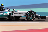 ROSBERG nico (ger) mercedes gp mgp w06 action during 2015 Formula 1 FIA world championship, Bahrain Grand Prix, at Sakhir from April 16 to 19th. Photo Clément Marin / DPPI