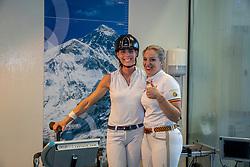 Claeys Manon, BEL, George Michèle, BEL<br /> Inspanningstesten Tokyo Olympics <br /> Université Catholique de Louvain-La-Neuve 2020<br /> © Hippo Foto - Dirk Caremans<br /> 10/03/2020