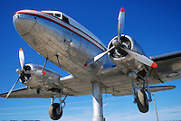 Douglas DC-3 weathervane, Whitehorse International Airport