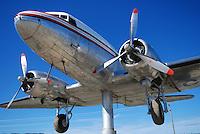 Douglas DC-3 weathervane, Whitehorse International Airport