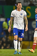 Mansfield Town Forward, Darius Henderson (34) during the EFL Sky Bet League 2 match between Portsmouth and Mansfield Town at Fratton Park, Portsmouth, England on 12 November 2016. Photo by Adam Rivers.