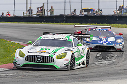 May 6, 2018 - Lexington, Ohio, United States of America - The Mercedes-AMG Team Riley Motorsports Mercedes-AMG GT3 car races through the keyhole turn during the the Acura Sports Car Challenge at Mid Ohio Sports Car Course in Lexington, Ohio. (Credit Image: © Walter G Arce Sr Asp Inc/ASP via ZUMA Wire)