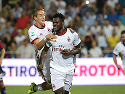 August 20, 2017 - Crotone, KR, Italy - Frack Kessie during the Serie A match between FC Crotone and AC Milan on August 20, 2017 in Crotone, Italy. (Credit Image: © Gabriele Maricchiolo/NurPhoto via ZUMA Press)
