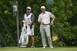 May 25, 2019 - Fort Worth, TX, U.S. - FORT WORTH, TX - MAY 25: Ryan Palmer looks over the 6th hole during the third round of the Charles Schwab Challenge on May 25, 2019 at Colonial Country Club in Fort Worth, TX. (Photo by George Walker/Icon Sportswire) (Credit Image: © George Walker/Icon SMI via ZUMA Press)