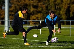 Josh Bassett of Wasps during training ahead of the European Challenge Cup fixture against SU Agen - Mandatory by-line: Robbie Stephenson/JMP - 18/11/2019 - RUGBY - Broadstreet Rugby Football Club - Coventry , Warwickshire - Wasps Training Session