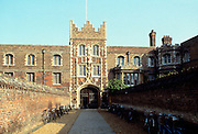 Jesus College at Cambridge University, England, UK