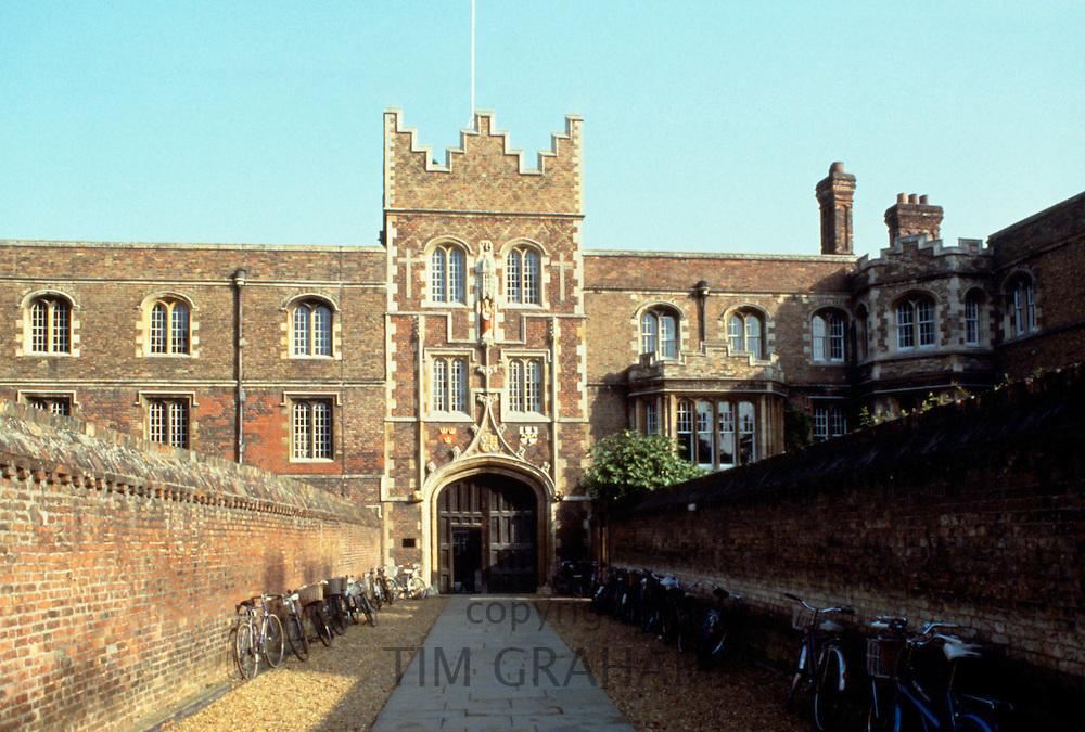 Jesus College at Cambridge University, England, UK
