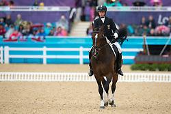 Dawson Anthony (RSA) - Roffelaar<br /> Team Test - Grade II - Dressage <br /> London 2012 Paralympic Games<br /> © Hippo Foto - Jon Stroud