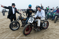 The pits at TROG West - The Race of Gentlemen. Pismo Beach, CA, USA. Saturday October 15, 2016. Photography ©2016 Michael Lichter.