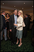 SIR TOBY CLARKE; BRIDGET CONVEY; , The hon Alexandra Foley hosts drinks to introduce ' Lady Foley Grand Tour' with special guest Julian Fellowes. the Sloane Club. Lower Sloane st. London. 14 May 2014