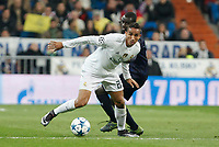 Real Madrid´s Danilo during 2015/16 Champions League soccer match between Real Madrid and Malmo at Santiago Bernabeu stadium in Madrid, Spain. December 08, 2014. (ALTERPHOTOS/Victor Blanco)