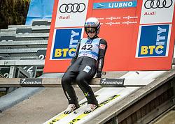 Silje Opseth of Norway during Day 3 of World Cup Ski Jumping Ladies Ljubno 2019, on February 10, 2019 in Ljubno ob Savinji, Slovenia. Photo by Matic Ritonja / Sportida