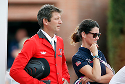 Mandli Beat (SUI) <br /> Team consolation competition<br /> Furusiyya FEI Nations Cup Jumping Final<br /> CSIO Barcelona 2013<br /> © Dirk Caremans