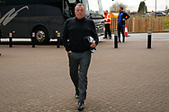 Wimbledon Manager Wally Downes arrives during the EFL Sky Bet League 1 match between Coventry City and AFC Wimbledon at the Ricoh Arena, Coventry, England on 12 January 2019.
