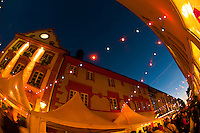 Wine festival, Offenburg, Baden-Württemberg, Germany