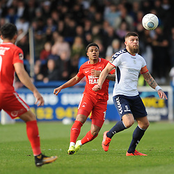 TELFORD COPYRIGHT MIKE SHERIDAN 23/3/2019 - Shane Sutton of AFC Telford during the FA Trophy Semi Final fixture between AFC Telford United and Leyton Orient at the New Bucks Head