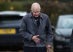 © Licensed to London News Pictures. 21/11/2016. Redhill, UK. Former vicar Guy Bennett arrives at Redhill Magistrates Court. He has been charged with 22 counts of indecent assault and one count of outraging public decency relating to incidents in London and Surrey between 1977 and 1992. Photo credit: Peter Macdiarmid/LNP