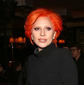 Lady Gaga Maxwell Fashion Show