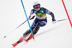 January 7, 2018 - Kranjska Gora, Gorenjska, Slovenia - Asa Ando of Japan competes on course during the Slalom race at the 54th Golden Fox FIS World Cup in Kranjska Gora, Slovenia on January 7, 2018. (Credit Image: © Rok Rakun/Pacific Press via ZUMA Wire)