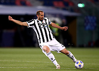 BOLOGNA, ITALY - MAY 23: Giorgio Chiellini of Juventus FC in action ,during the Serie A match between Bologna FC and Juventus FC at Stadio Renato Dall'Ara on May 23, 2021 in Bologna, Italy.(Photo by MB Media/Getty Images)