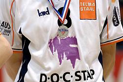 05-03-2006 VOLLEYBAL: FINAL 4 HEREN:  ORION - ORTEC NESSELANDE: ROTTERDAM<br /> In een mooie finale was Nesselande in 3 sets te sterk voor Orion / Zilveren medaille voor Orion<br /> Copyrights2006-WWW.FOTOHOOGENDOORN.NL